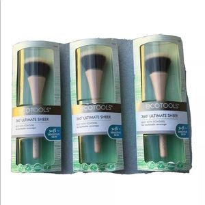 Set /3 Eco Tool Makeup Brushes 360 Sensitive Skin